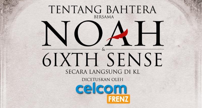 Celcom Frenz Tentang Bahtera NOAH Banner