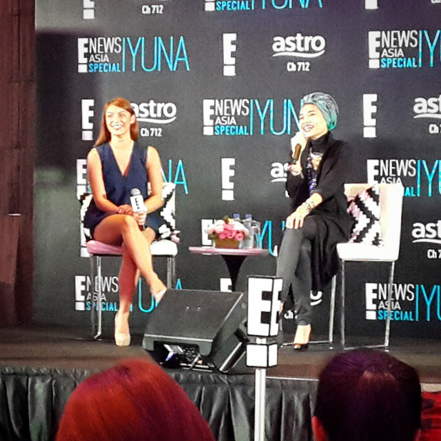 Yes, @yunamusic will be getting her own E! News Asia Special show! Get the inside scoop on #Yuna's life on 25th Nov at 10pm on E! (Astro Channel 712) ?