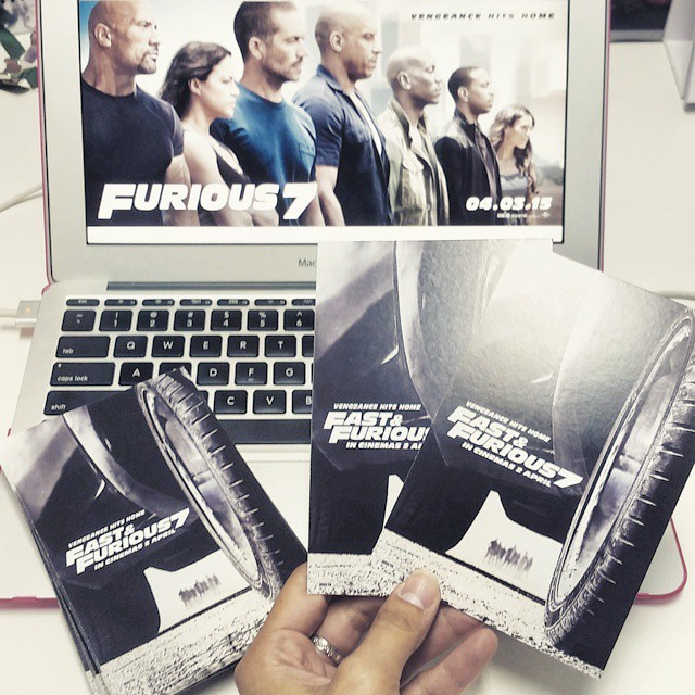 We've got your #Furious7 passes, winners ? Don't forget to swing by GSC 1U from 8pm onwards tonight to collect your passes - 2 PASSES per winner.  IMPORTANT: As stated in our contest T&C, winners are required to redeem their tickets at the cinema. Please present your IC for identification purposes. Tickets are strictly non-transferable. Hype Malaysia reserves the right to refuse the collection of tickets for those who attempt to transfer it from one contest winner (in whose name it is registered) to another person.